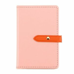 Flip Adhesive Card Pouch Phone Card ID Holder Sleeve Pocket, Rose Gold