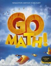 Go Math!: Student Edition Grade 4 2012 Common Core Edition Book - FREE SHIPPING
