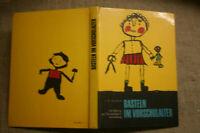 Bastelbuch für Kindergarten, Werken, Papierarbeiten, Holz, Pappe, Kork, DDR 1972