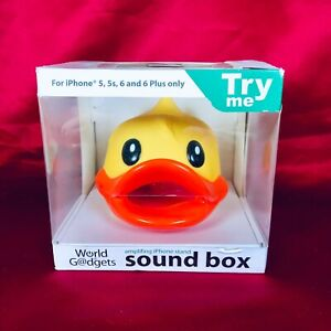 World Of Gadgets Sound Box For iPhone 5, 5S, 6 And 6 Plus