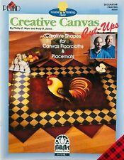Creative Canvas Cut-Ups Philip Myer & Andy Jones Decorative Tole Painting Book