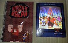 New Disney Wreck it Ralph Blu-ray Steelbook Blufans Lenticular Edition 475/2000