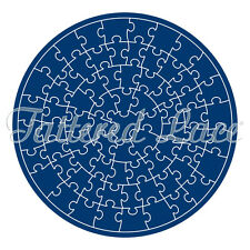 Tattered Lace Círculo Jigsaw Die + Cd Rom-TLD0023-Gratis 1st Clase P&p