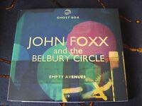 Slip CD Album: John Foxx & The Belbury Circle : Empty Avenues : Sealed