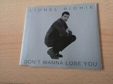 Lionel Richie - Don't Wanna Lose You - Rar Mcd