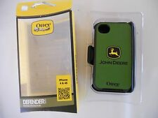 N.I.P. DEALERS JOHN DEERE IPHONE 4/4S OTTERBOX DEFENDER PHONE CASE W/BELT CLIP