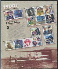 Celebrate The Century 1900-1990 Sheets All Are Mnh