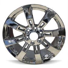 New 22 Inch 2009-2014 Suburban 1500 Tahoe Yukon 1500 Escalade Chrome Wheel Rim