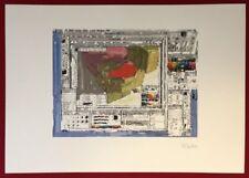 Brian Reffin Smith, Computer Image, Farboffsetdruck, 2000, handsigniert und dat.