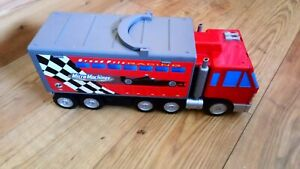 MICRO MACHINES GRAND PRIX RACING TRUCK FOLD OUT PLAYSET 1999