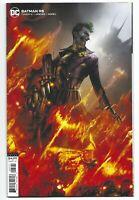 Batman #95 2020 Unread Francesco Mattina Card Stock Variant DC Comics Joker War