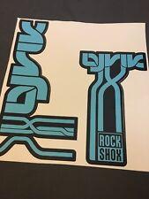 Rock Shox Fork decals Lyrik 2011