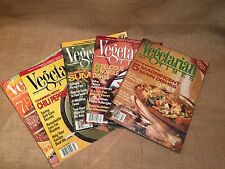 Lot of 5 Vegetarian Times Magazine October 1993 April May June 1994 Sept 1998