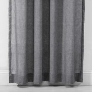 """Made By Design LIGHT FILTERING CURTAIN SET 42""""W X 63""""L LENGTH X 2 PANELS"""