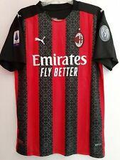 Maglia Milan personalizzata maglietta calcio completo pantaloncini rosso nera