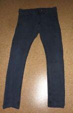 JEANS ~H&M ~ schwarz used ~ Größe W 32 - L 32 ~ skinny ~ low waist
