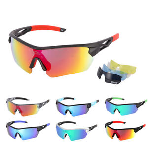 iceblinkie Polarized Cycling Glasses Eyewear Bike Goggles Fish Sunglasses 5 Lens