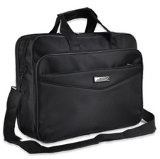 New Mens Black Oxford Briefcases Bag Laptop Crossbody Briefcase Office Bag