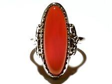 Damen Ring Trudy, 925er Silber mit Achat
