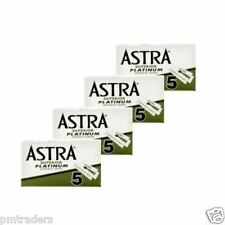 20 ASTRA SUPERIOR PLATINUM DOUBLE EDGE SAFETY RAZOR BLADES