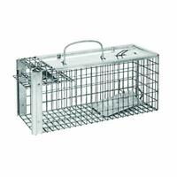 Defenders Rat and Squirrel Cage Trap (Humane, Easy to Bait and Set, Long-Lasting