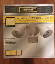 Defiant DF-5597-WH-G Motion Security Light, White, Free Shipping!