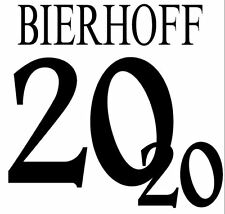 Bierhoff #20 Germany Euro 1996 Home Football Nameset for shirt