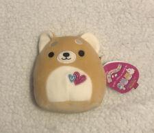 Squishmallow 5 Inch 2021 Valentines Edition Nwt Plush Angie Rare Shiba Inu Dog