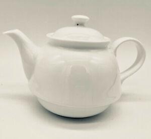 Small Fine Bone China Teapot in Plain White China