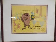 Warner Bros. Tazmanian Devil Film Art Signed by Chuck Jones for Bob McKimson Ltd