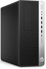 HP EliteDesk 800 G3 Tower Desktop Intel Core I7-7700k 4.2 GHz 16gb RAM 512gb