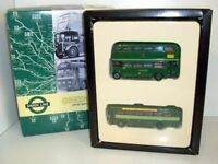 EFE 1/76 Scale London Transport Museum RF & RT Green Line Bus Set 5