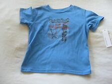 NEW WITH TAGS CALVIN KLEIN JEANS BOYS BLUE GUITAR T SHIRT TOP SIZE 4T