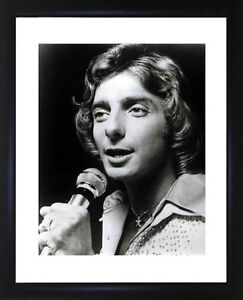Barry Manilow Framed Photo CP0029
