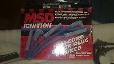 Msd 3110 Universal Heli Core Spark Plug Wires 90 Deg Plug 90 Degree Socket Cap