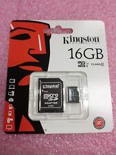 Lot of 10 New Kingston Micro SD SDC/16GB MicroSD SDC Class 10