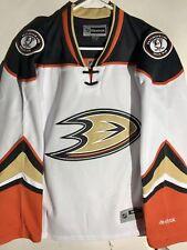 Reebok Women's Premier NHL Jersey Anaheim Ducks Team White sz M