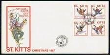 Mayfairstamps St Kitss FDC 1987 Christmas Clown Combo First Day Cover wwm_26369