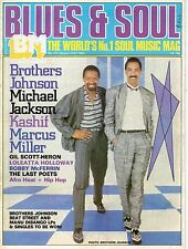 The Brothers Johnson Blues & Soul 1984   Michael Jackson Gil Scott-Heron  Kashif