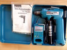 @ MAKITA @ Akku- Bohrschrauber 6092 D @ mit Ladegerät, Metallkoffer, Anleitung @
