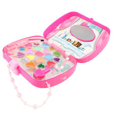 Makeup Jewelry Box Pretend Toy for Girls Play Cosmetic Set Make Up Game for Kids