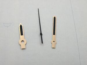 Rose Gold Black Lume Watch Hands For ETA 2824 2836 2846 2834 2874 etc