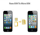 Adapter Micro Adaptor for iPhone SIM Card 5 IN 1 to Set Standard Nano Converter