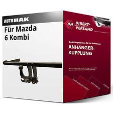 Anhängerkupplung AHK starr MAZDA 6 Kombi GH ab 2008 NEU ABE