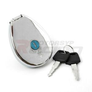 Fuel Tank Gas Cap Cover Key Set For Kawasaki Eliminator VN250 ZL600 Vulcan 400