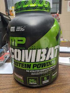 MP Combat Musclepharm 100% Whey Protein 25g Gluten Free 4 Lbs Chocolate Flavor