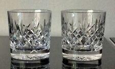 More details for edinburgh crystal, lomond cut, whisky tumblers (signed edinburgh scotland)