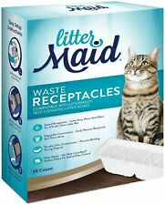 LitterMaid Waste Receptacles, Disposable/Sealable 18-count 3rd Edition Box