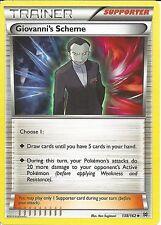 POKEMON CARD XY BREAK THROUGH - GIOVANNI'S SCHEME 138/162 TRAINER