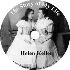 Story of My Life Helen Keller Audiobook Autobiography Eng. 3 Audio CDs Free Ship